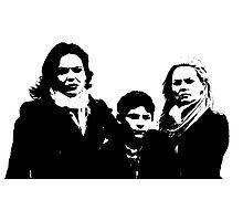Swan-Mills Family Photographic Print