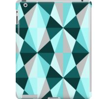 Retro abstract geometric pattern iPad Case/Skin
