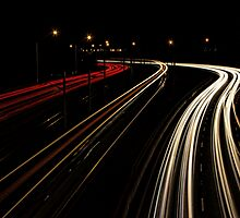 Light Trails by threewisefrogs