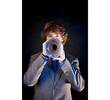 Trumpeting Photographic Print