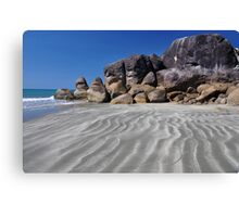 Tide Lines at Ramsay Canvas Print