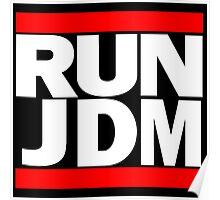 RUN JDM Poster
