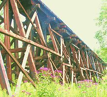 Railroad Trestle by Jim DeMore