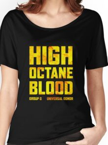 Mad Max Fury Road High Octane Blood Women's Relaxed Fit T-Shirt