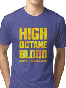 Mad Max Fury Road High Octane Blood Tri-blend T-Shirt