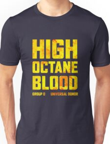 Mad Max Fury Road High Octane Blood Unisex T-Shirt