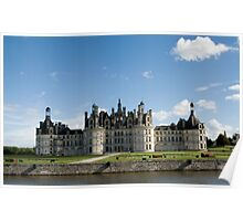 Chambord Castle in France Poster