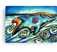 Ocean Odyssey Canvas Print