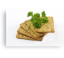 Sesame Crackers Canvas Print