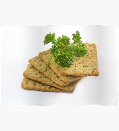 Sesame Crackers Poster