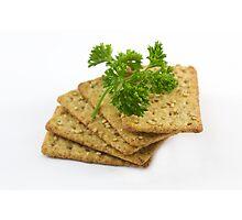 Sesame Crackers Photographic Print
