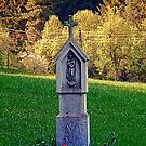Holy Mary wayside cross   cultural heritage by Patrick Jobst