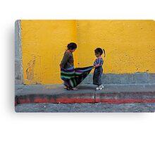 guatemala games Canvas Print