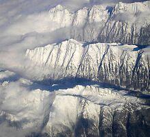 Somewhere Above The Alps by Mojca Savicki