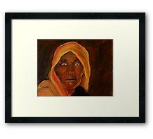 DO YOU SEE ME Framed Print
