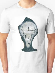 Salvador Dahli Melting Clock Unisex T-Shirt