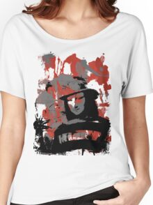 Freddy Lisa (Red) Women's Relaxed Fit T-Shirt