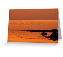 Under The Red Sky Greeting Card