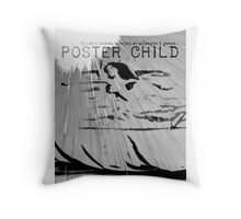 Trista & Holt: Poster Child Throw Pillow
