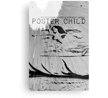 Trista & Holt: Poster Child Metal Print