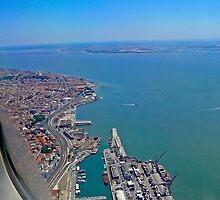 Lisbon Harbour... by terezadelpilar~ art & architecture