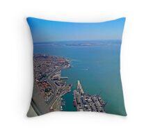 Lisbon Harbour... Throw Pillow