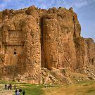 Naqsh-E Rostam - Necropolis - Single Tomb - Iran  by Bryan Freeman