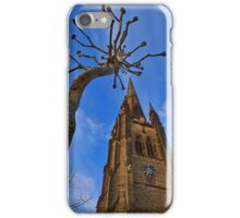 Church & Tree - London - England iPhone Case/Skin