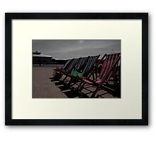 Deck the Chairs... Framed Print