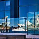 A Double Reflection on Sydney Opera House #3 - Australia by Bryan Freeman