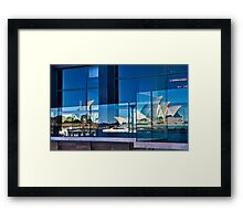 A Double Reflection on Sydney Opera House #3 - Australia Framed Print