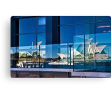 A Double Reflection on Sydney Opera House #3 - Australia Canvas Print