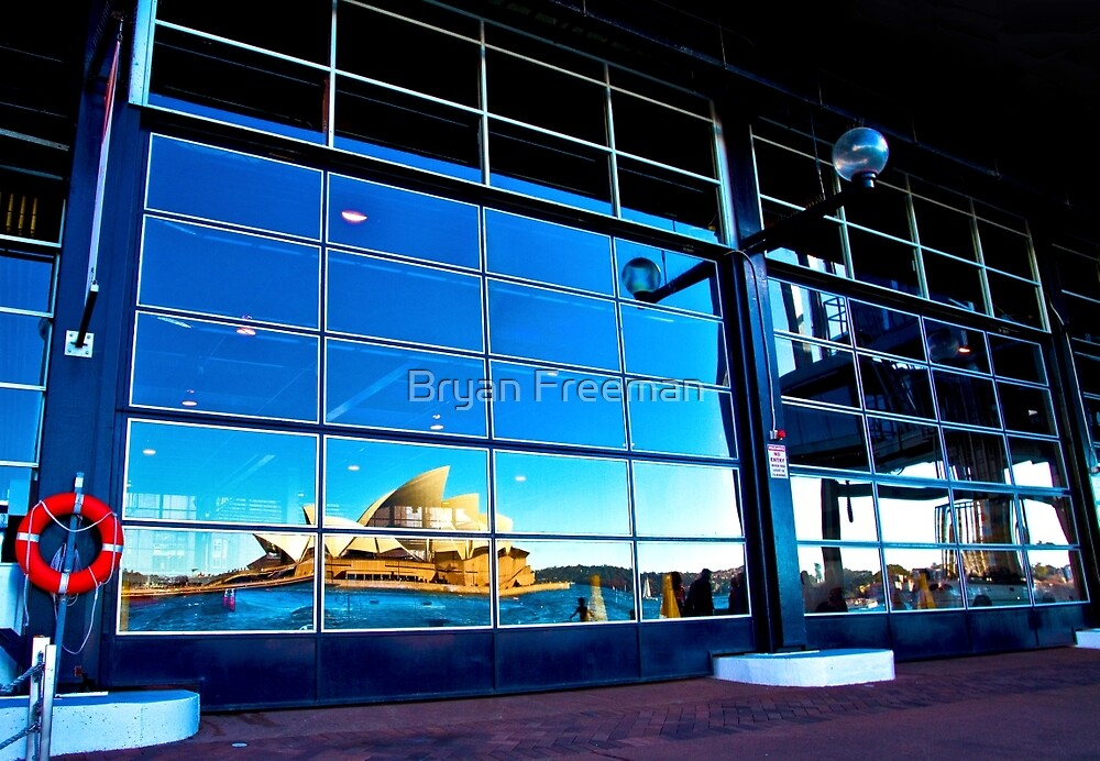 A Reflection on Sydney Opera House #2 - Australia by Bryan Freeman