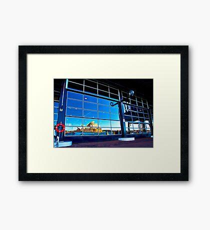 A Reflection on Sydney Opera House #2 - Australia Framed Print