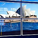 A Reflection on Sydney Opera House - Australia by Bryan Freeman