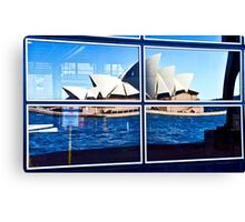 A Reflection on Sydney Opera House - Australia Canvas Print