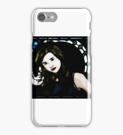 Bullet Gal by Andrez + Matintheworld iPhone Case/Skin