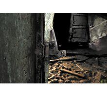 Wagon Door Photographic Print