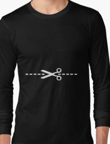 Less Is More (Sexy / White) Long Sleeve T-Shirt