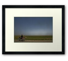 Nesting Instinct - The Road to Hamadan - Iran Framed Print