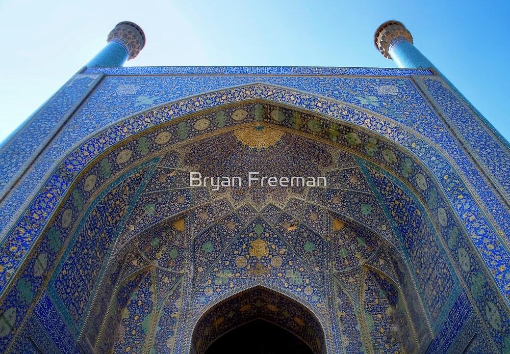 Imam Mosque - Isfahan - Iran by Bryan Freeman
