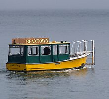 """Beantown Water Taxi"" - Summer in Boston Series - © 2009 by Jack McCabe"