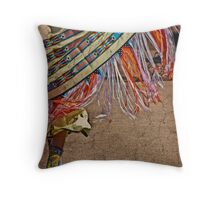 Fringe Dancer Throw Pillow