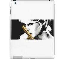 The Gal With the Golden Gun iPad Case/Skin