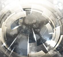Abstract technology background. by lantica