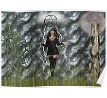 Woodland Witch Poster