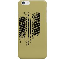 Funny Tire Mark iPhone Case/Skin