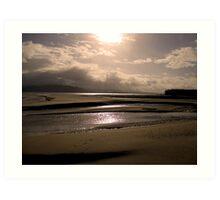 Good Morning from Portsalon, Donegal Art Print