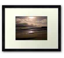 Good Morning from Portsalon, Donegal Framed Print