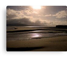 Good Morning from Portsalon, Donegal Canvas Print